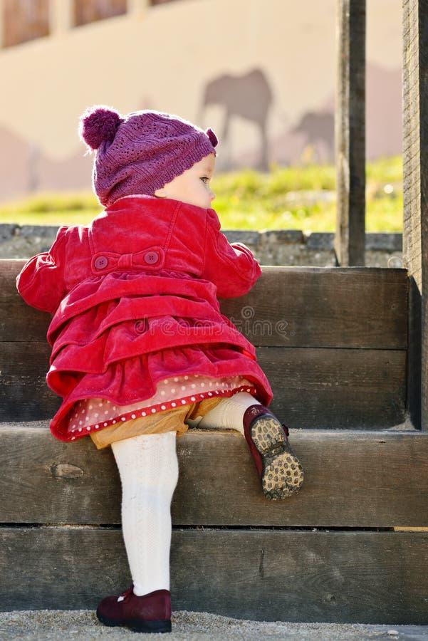 Μωρό στον περίπατο στοκ εικόνα