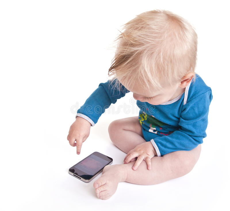 μωρό σύγχρονο στοκ εικόνα