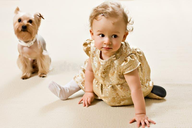 μωρό χρυσό στοκ φωτογραφία με δικαίωμα ελεύθερης χρήσης
