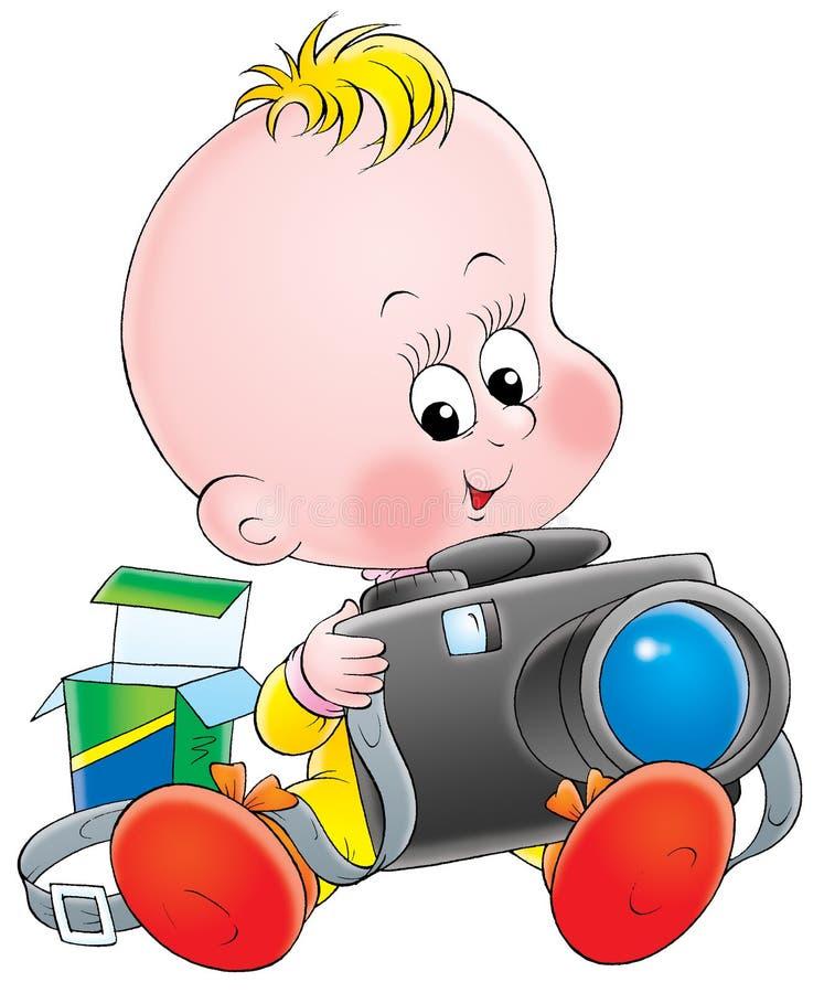 μωρό 006 απεικόνιση αποθεμάτων