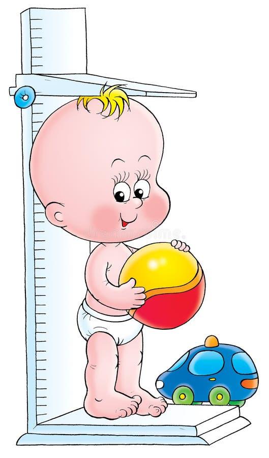 μωρό 017 διανυσματική απεικόνιση