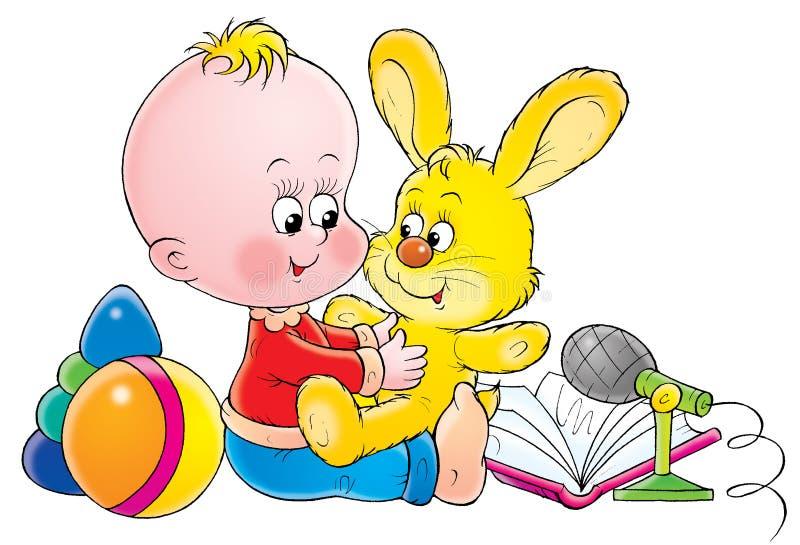 μωρό 019 απεικόνιση αποθεμάτων