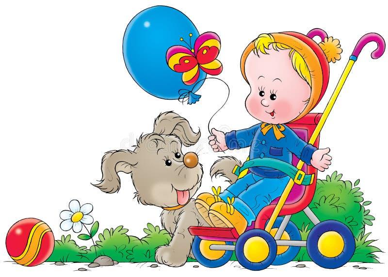 μωρό 035 διανυσματική απεικόνιση