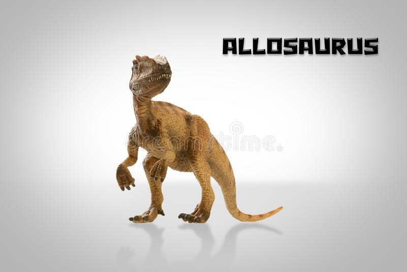 Μωρό Allosaurus ελεύθερη απεικόνιση δικαιώματος