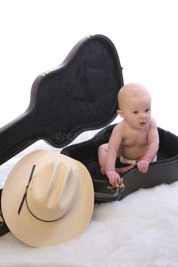 μωρό case1 guit στοκ φωτογραφία με δικαίωμα ελεύθερης χρήσης