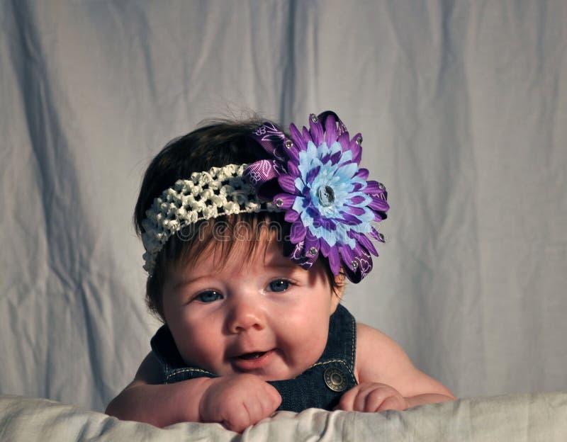 Μωρό Giggling στοκ φωτογραφίες με δικαίωμα ελεύθερης χρήσης