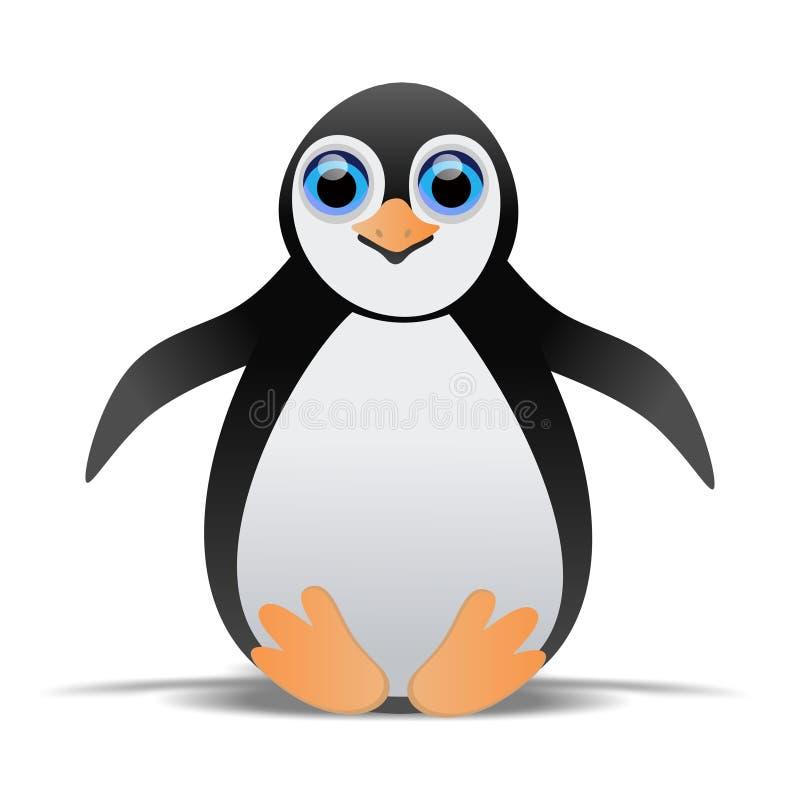 Μωρό Penguin ελεύθερη απεικόνιση δικαιώματος