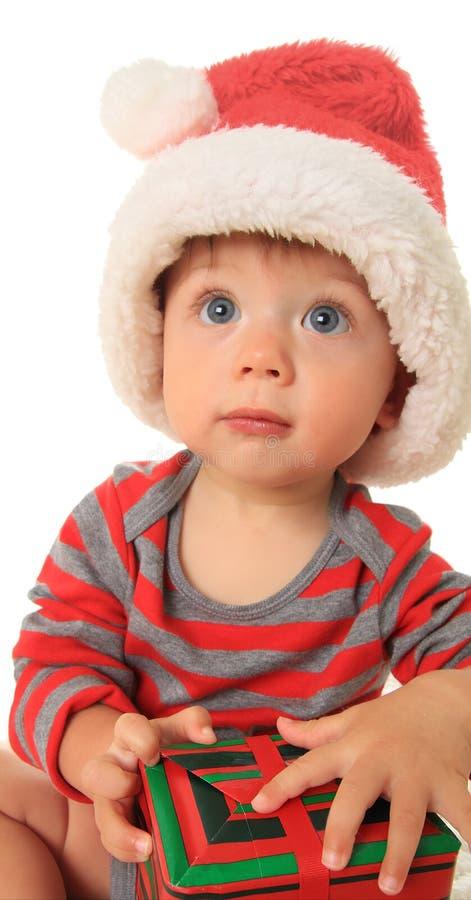 Μωρό Santa στοκ φωτογραφία