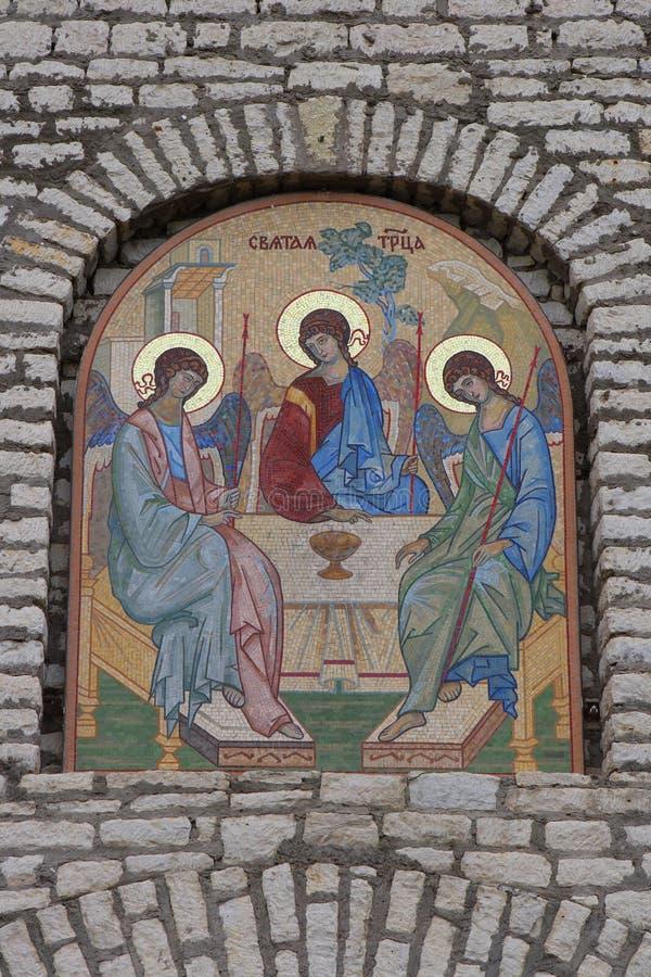 μωσαϊκό λεπτομερειών εκκλησιών στοκ φωτογραφία με δικαίωμα ελεύθερης χρήσης