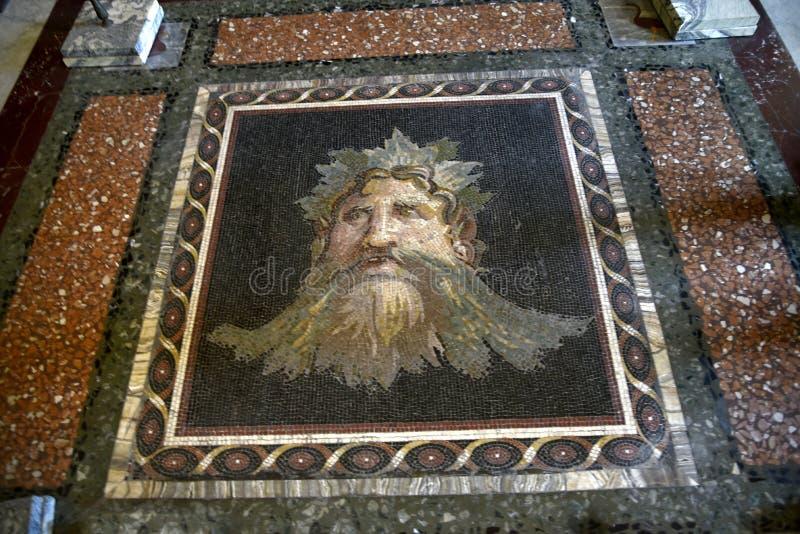 Μωσαϊκό στο Galleria Borghese Ρώμη Ιταλία στοκ φωτογραφία με δικαίωμα ελεύθερης χρήσης