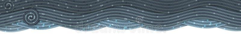 μωσαϊκό σύννεφων απεικόνιση αποθεμάτων