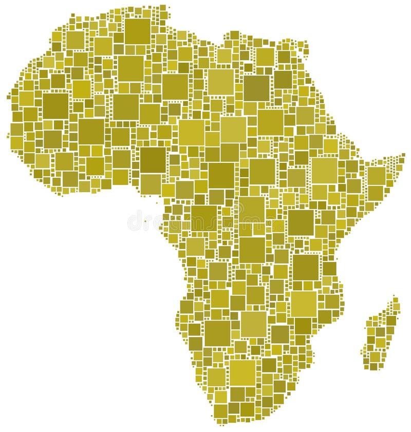 μωσαϊκό της Αφρικής κίτριν&omicron ελεύθερη απεικόνιση δικαιώματος