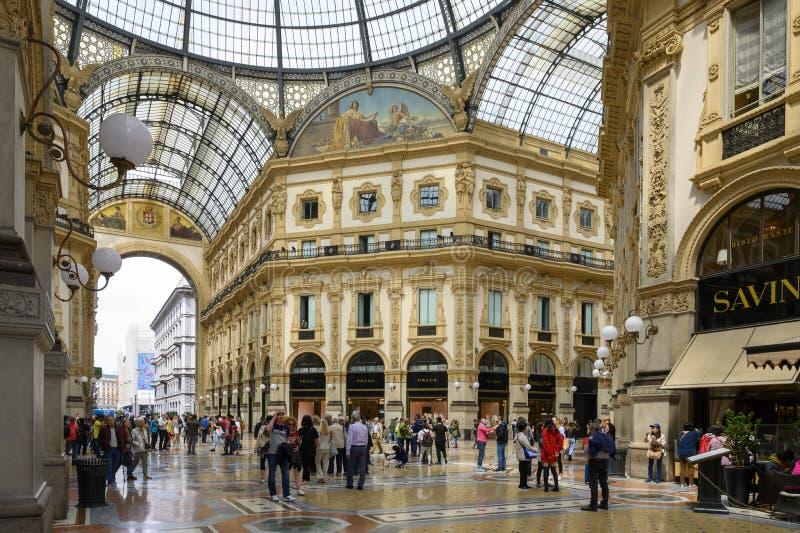 Μωσαϊκό της Ευρώπης, Galleria Vittorio Emanuele ΙΙ, Μιλάνο, Ιταλία στοκ φωτογραφία με δικαίωμα ελεύθερης χρήσης