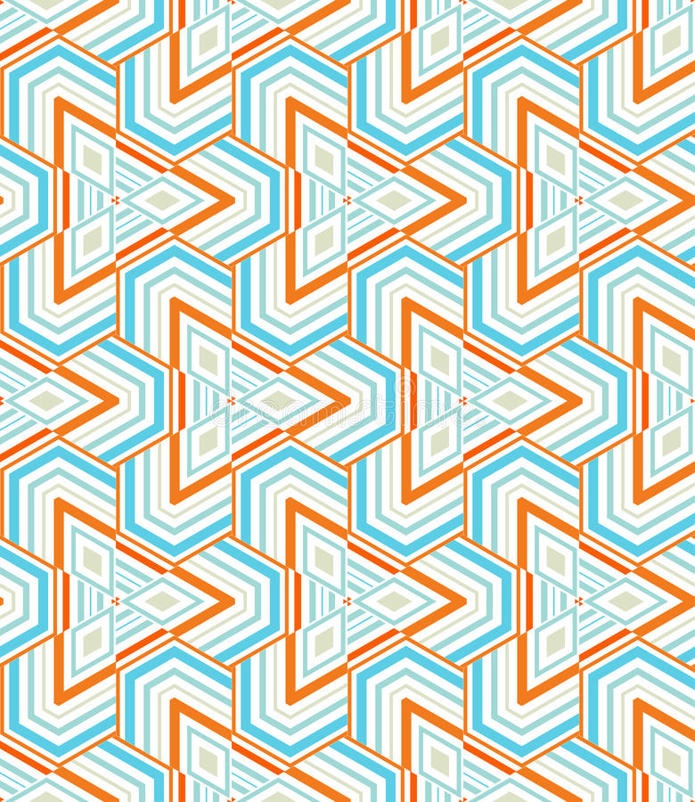 μωσαϊκό τριγωνικό απεικόνιση αποθεμάτων