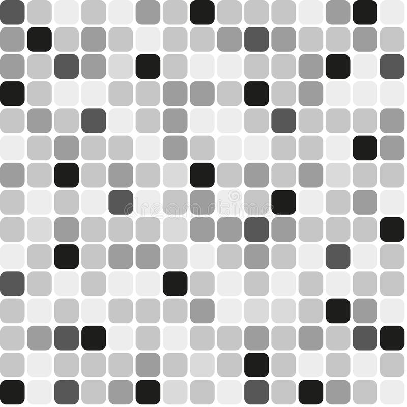 Μωσαϊκό υποβάθρου γκρίζο διανυσματική απεικόνιση