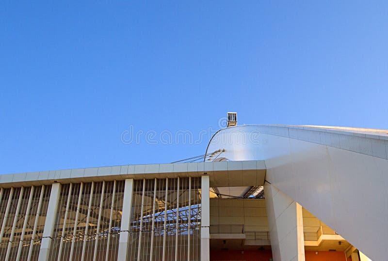 Μωυσής Mabhida Stadium Arch στοκ εικόνες