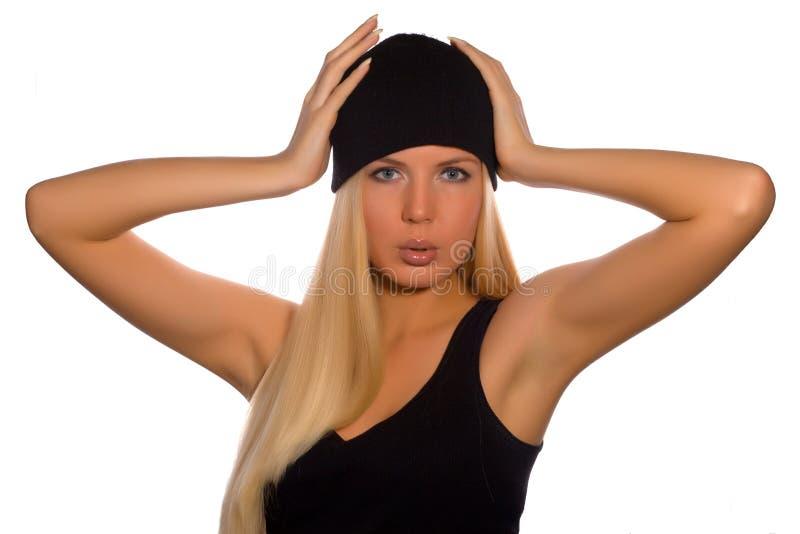 μόδα ρωσικά ομορφιάς στοκ εικόνα με δικαίωμα ελεύθερης χρήσης