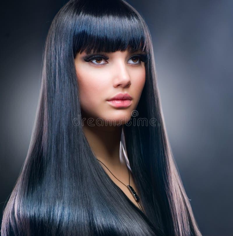 μόδα brunette στοκ εικόνες