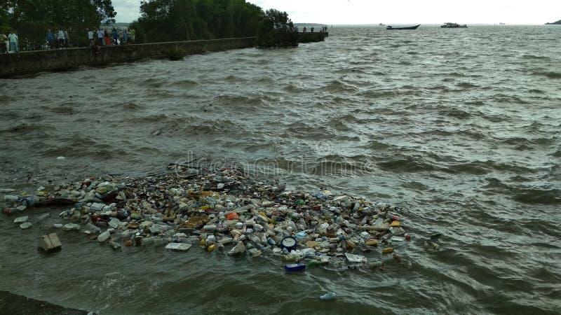 Μόλυνση θάλασσας στοκ φωτογραφία με δικαίωμα ελεύθερης χρήσης