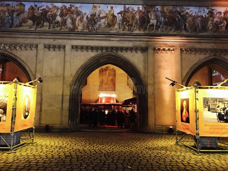 Μόναχο η πύλη 2016 στοκ εικόνες