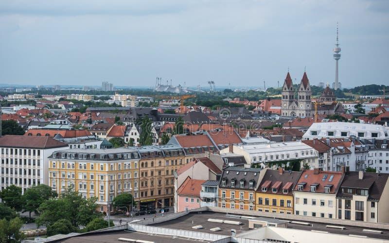 Μόναχο στη Βαυαρία, Γερμανία στοκ φωτογραφία με δικαίωμα ελεύθερης χρήσης