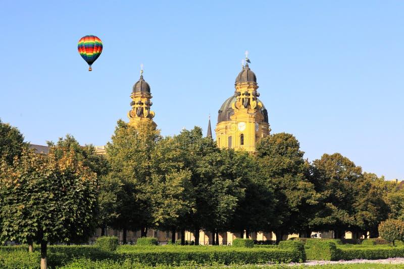 Μόναχο odeonsplatz residenz στοκ εικόνα με δικαίωμα ελεύθερης χρήσης