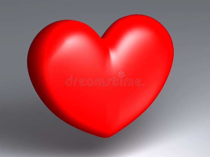 μόνη καρδιά απεικόνιση αποθεμάτων