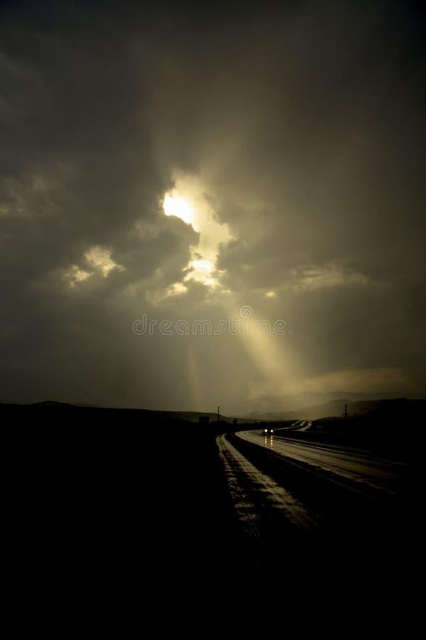μόνος δρόμος στοκ φωτογραφίες με δικαίωμα ελεύθερης χρήσης