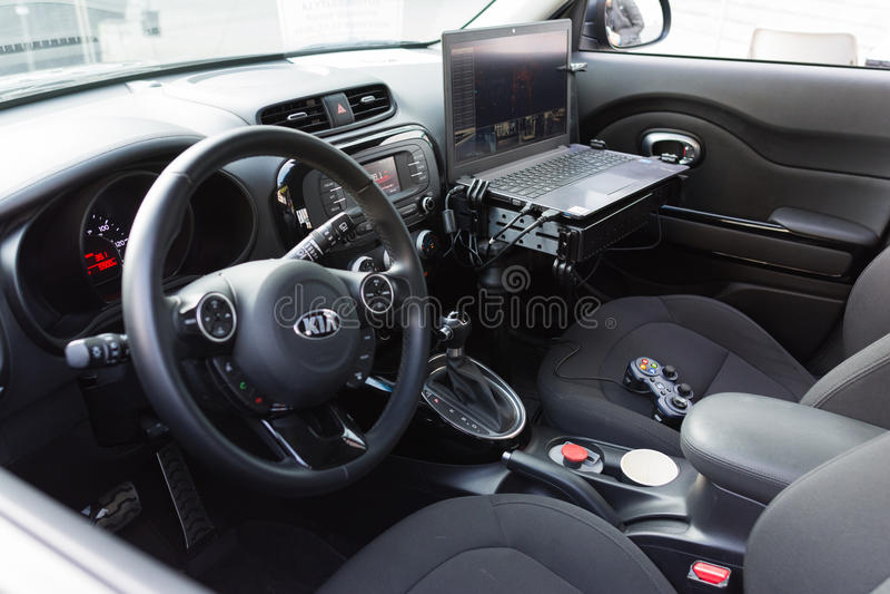 Μόνος-οδηγώντας αυτοκίνητα PolySync στοκ φωτογραφίες με δικαίωμα ελεύθερης χρήσης
