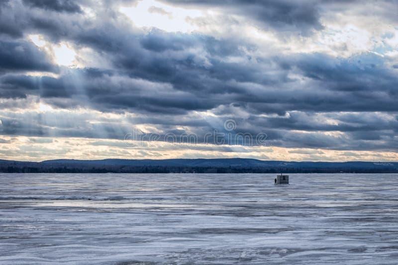 Μόνος πάγος Φίσερ στοκ εικόνες με δικαίωμα ελεύθερης χρήσης