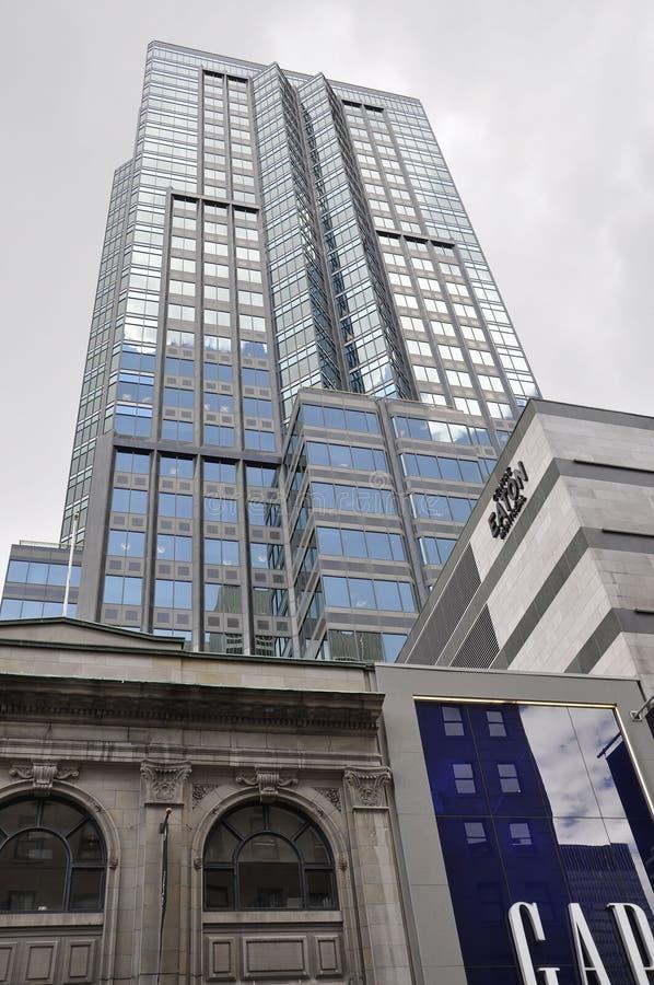 Μόντρεαλ, στις 27 Ιουνίου: Κεντρικό κτήριο Eaton από κεντρικός του Μόντρεαλ στοκ φωτογραφίες με δικαίωμα ελεύθερης χρήσης