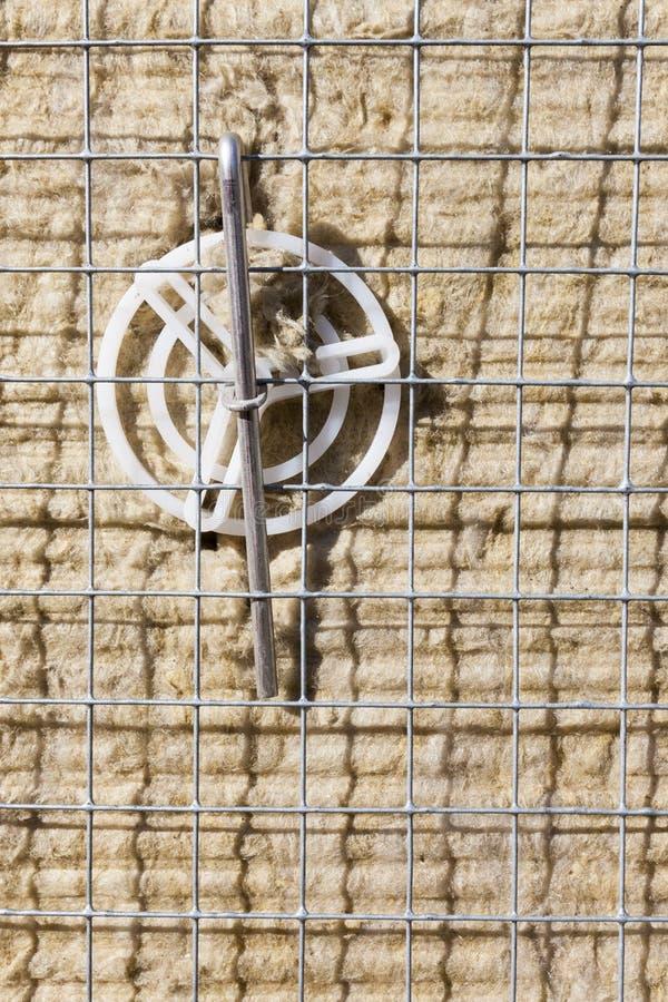 Μόνωση βράχος-μαλλιού εγκατεστημένη στοκ φωτογραφίες με δικαίωμα ελεύθερης χρήσης
