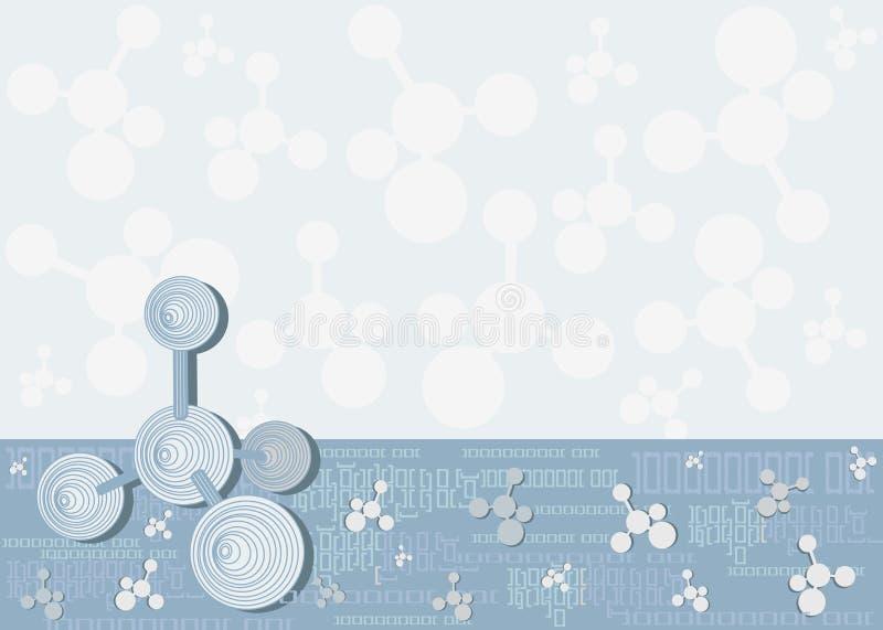 Download μόριο απεικόνιση αποθεμάτων. εικονογραφία από χημικός - 22798963
