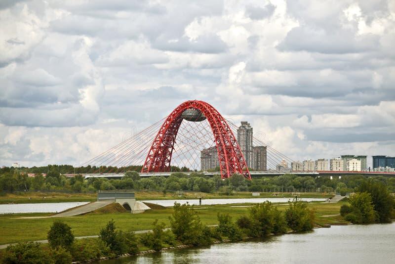 Μόσχα. Αθλητισμός σύνθετος σε Krylatskoe στοκ φωτογραφία