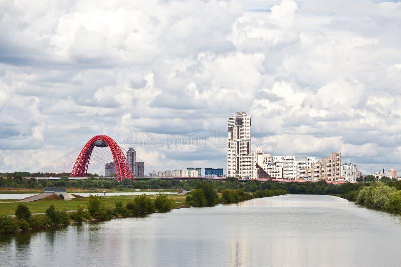 Μόσχα. Αθλητισμός σύνθετος σε Krylatskoe στοκ φωτογραφία με δικαίωμα ελεύθερης χρήσης
