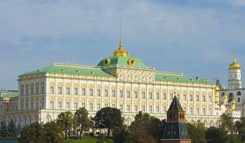 Μόσχα, παλάτι του Κρεμλίνου στοκ εικόνα