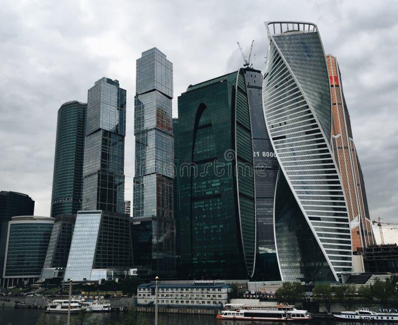 Μόσχα-πόλη στοκ εικόνα με δικαίωμα ελεύθερης χρήσης