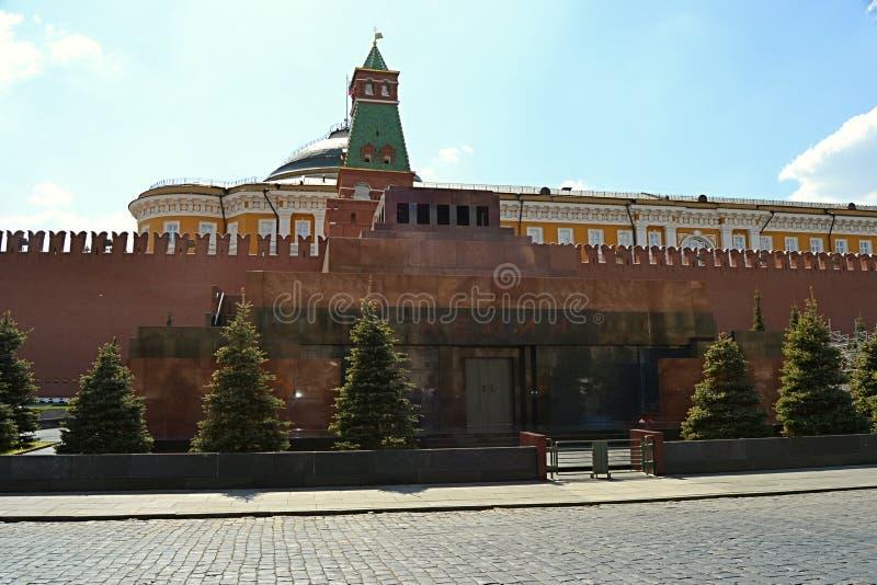 Μόσχα, Ρωσία, πόλη, 2018, megalopolis, η κόκκινη πλατεία, στοκ εικόνα με δικαίωμα ελεύθερης χρήσης