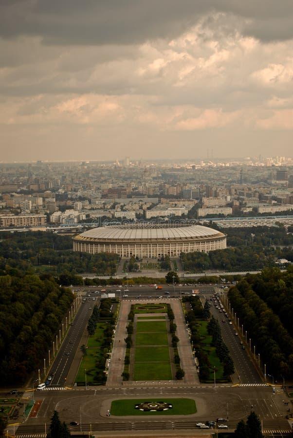 Μόσχα στην όψη στοκ εικόνα