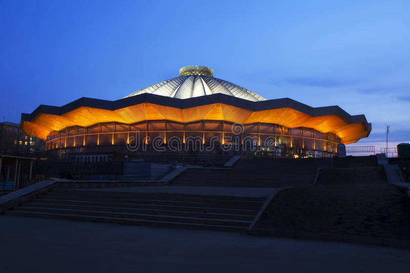 Μόσχα. Το τσίρκο. στοκ φωτογραφίες με δικαίωμα ελεύθερης χρήσης