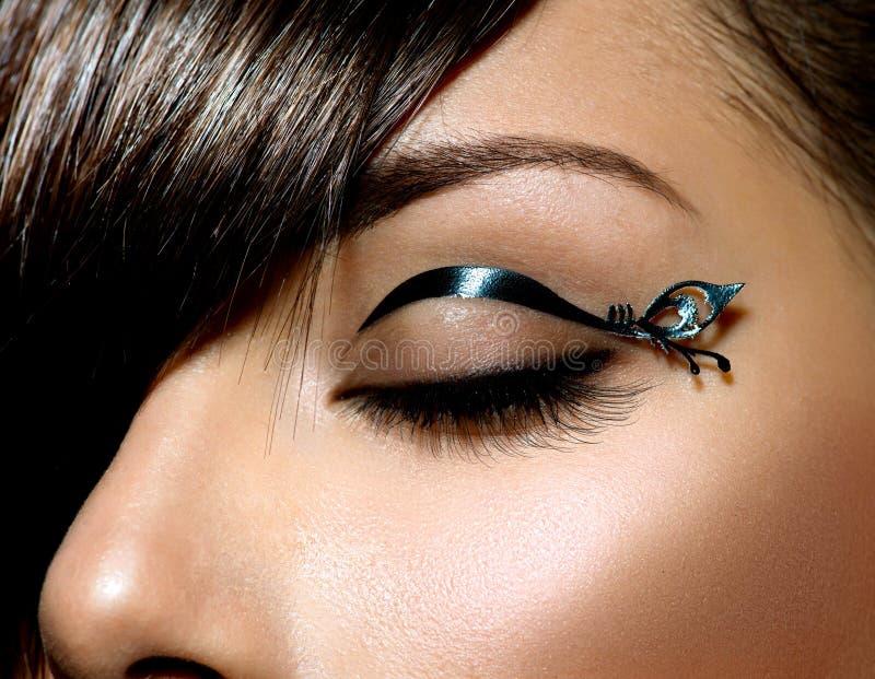 Μόδα Makeup στοκ εικόνες