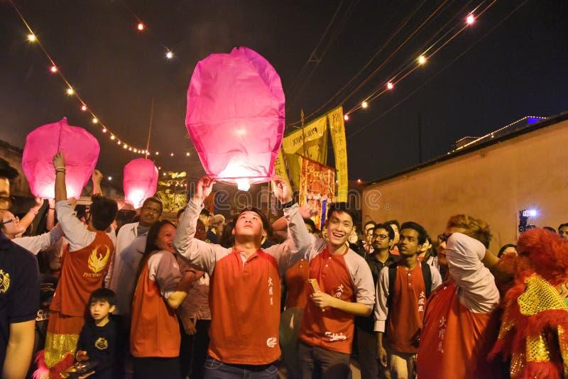 Μύγα μπαλονιών στοκ φωτογραφία με δικαίωμα ελεύθερης χρήσης