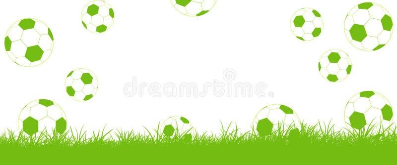 Μύγα ποδοσφαίρων στο χορτοτάπητα, στόχος! ελεύθερη απεικόνιση δικαιώματος