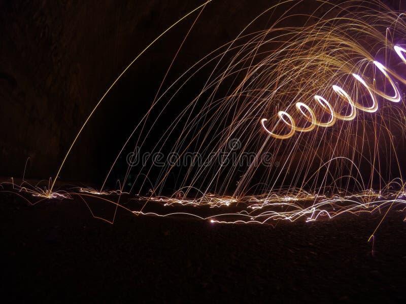 Μύγα σπινθήρων στοκ φωτογραφία με δικαίωμα ελεύθερης χρήσης