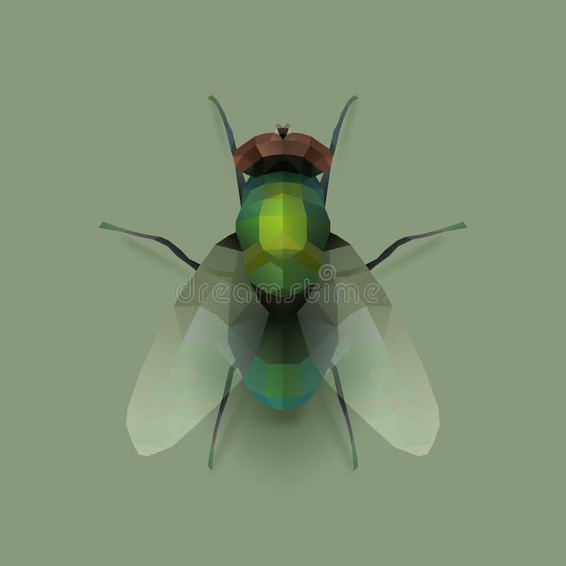 Μύγα διανυσματική απεικόνιση