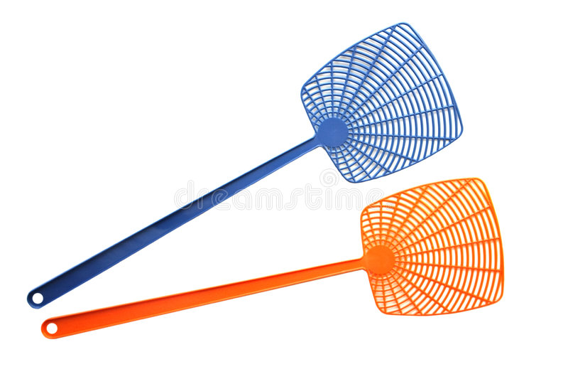 Μύγα Swatters στοκ φωτογραφία με δικαίωμα ελεύθερης χρήσης