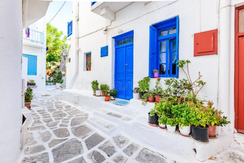 Μύκονος, ελληνικά νησιά, Ελλάδα στοκ φωτογραφία με δικαίωμα ελεύθερης χρήσης