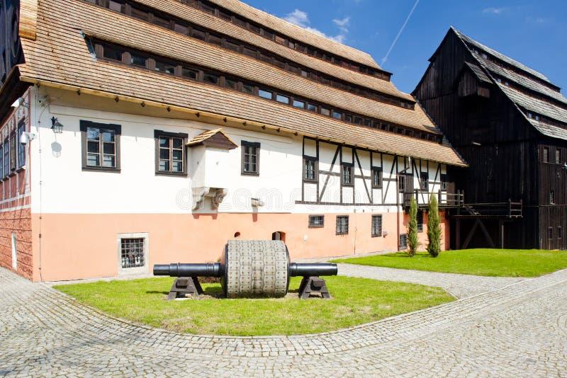 μύλος εγγράφου, duszniki-Zdroj, Σιλεσία, Πολωνία στοκ φωτογραφία