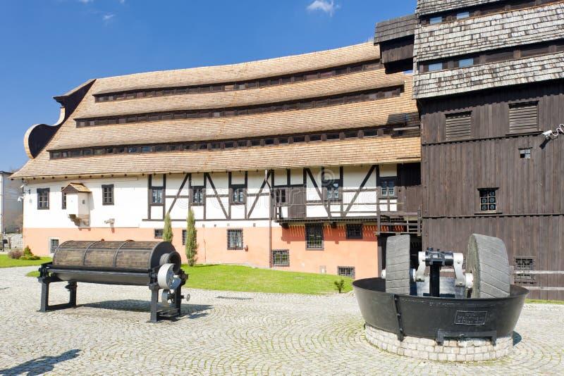 μύλος εγγράφου, duszniki-Zdroj, Σιλεσία, Πολωνία στοκ φωτογραφία με δικαίωμα ελεύθερης χρήσης