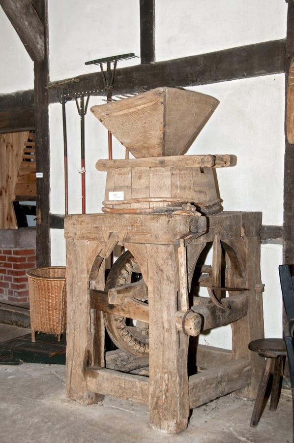 μύλος σιταριού παλαιός στοκ φωτογραφίες με δικαίωμα ελεύθερης χρήσης